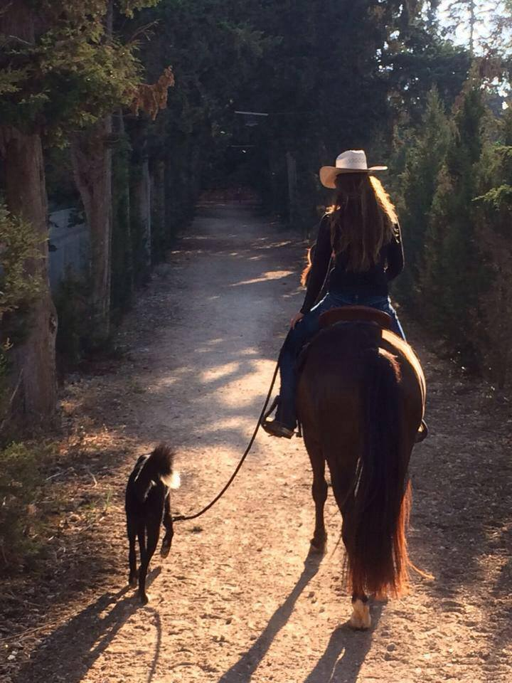 Trail Ride with Niko