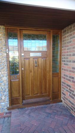 Oak Panel Door and Side Light.jpg