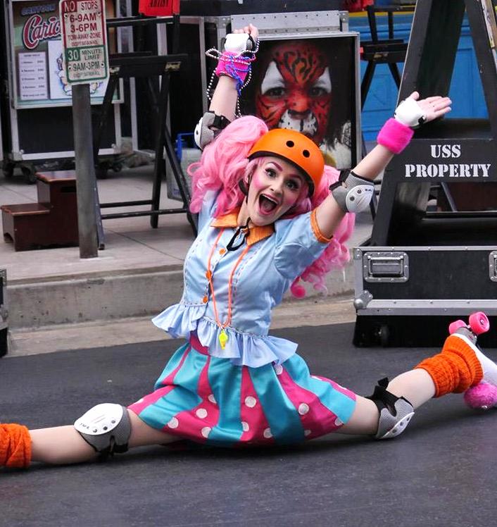 Easter roller skate show