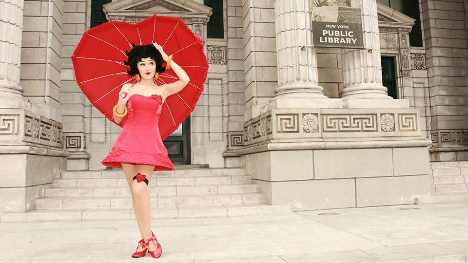 Betty Boop Face Character