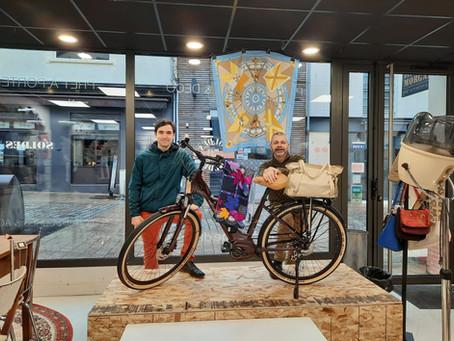 Les Vélos de Victor s'invitent à la boutique