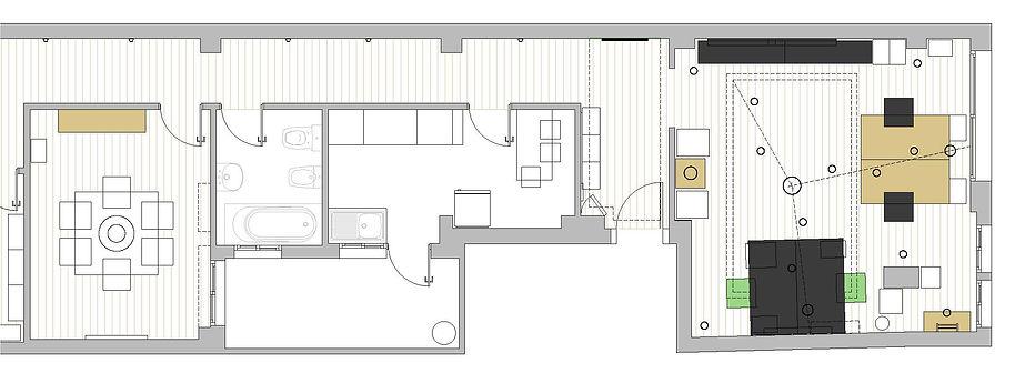 planta diseño oficinas