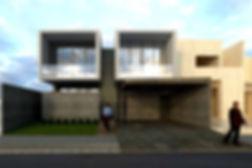 infografia exterior vivienda