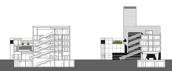 secciones arquitectura