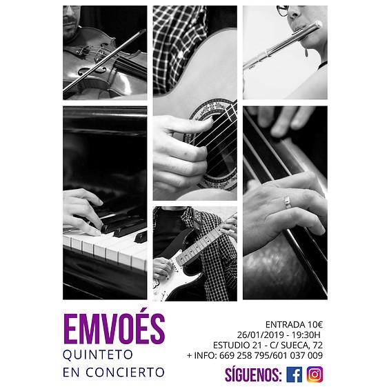 Emvoés Quinteto // en directo
