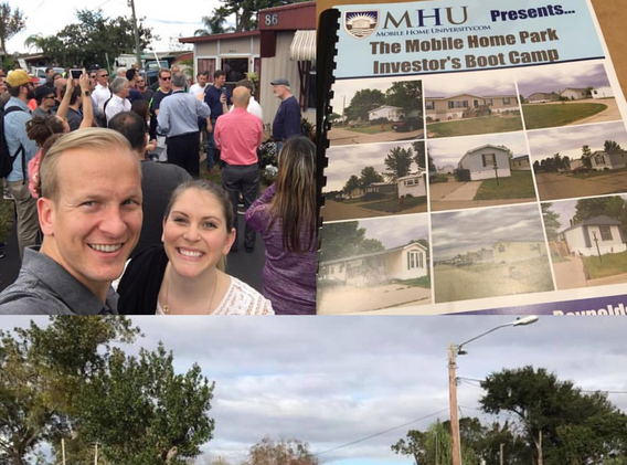 Andrew and Katie at the MHU Boot camp in Orlando in 2017