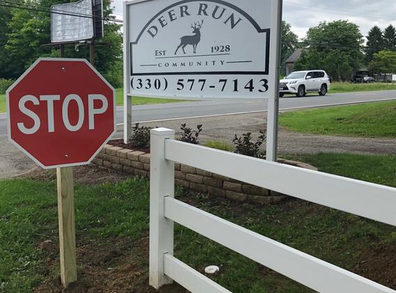 Front entrance improvement in Deer Run