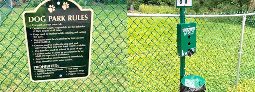 Dog Park installed in the Deer Run Mobile Home Park