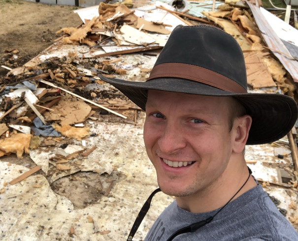 Managing a mobile home demolition project
