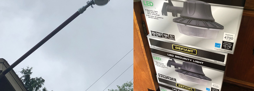 New LED lights installed to cut costs in our mobile home parks