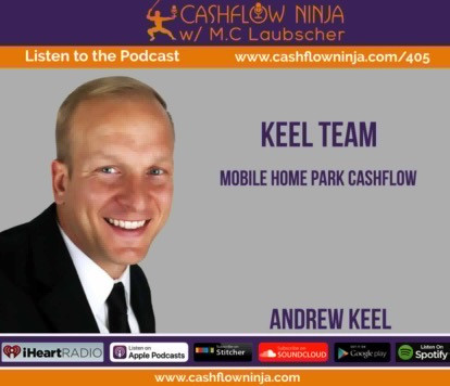 One of the podcast episodes I recorded with the cashflow ninja