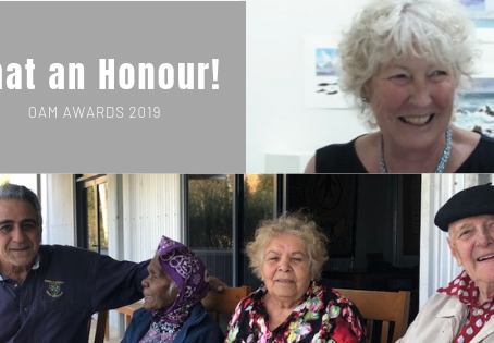 What an Honour! Two AAAA Members awarded an OAM in 2019
