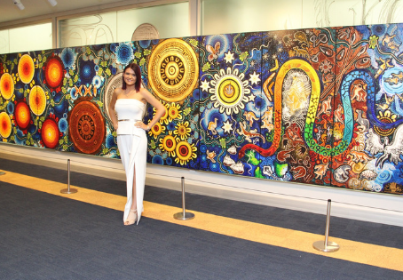 My Story by Chern'ee Sutton: Artist in Residence at the 2018 Commonwealth Games