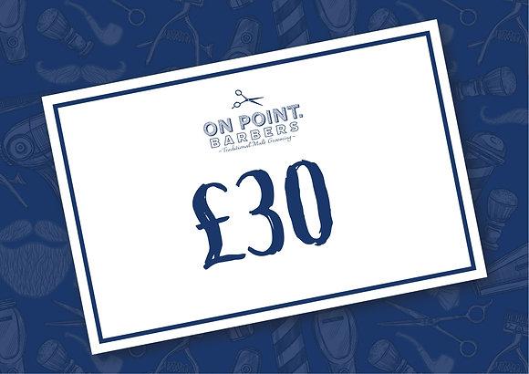 Gift Card £30