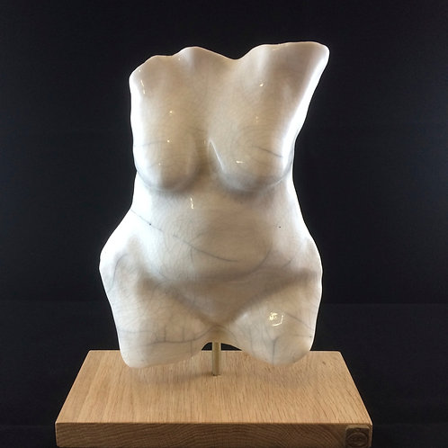 Female torso on plynth