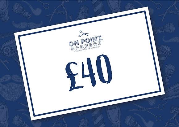 Gift Card £40