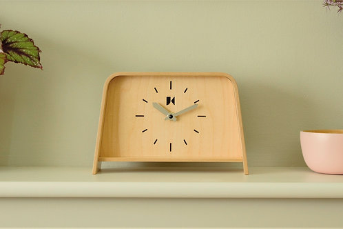 Maple Mantle Clock