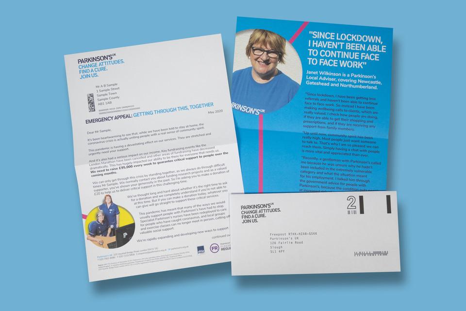 Parkinson's UK Covid 19 Emergency appeal