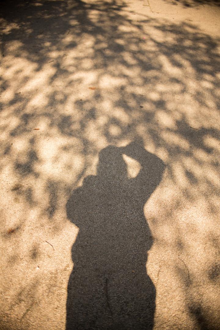Nature Selfie in Alexandra Park!