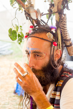 Event Photography for Spiritual Playground at Secret Garden Party Festival
