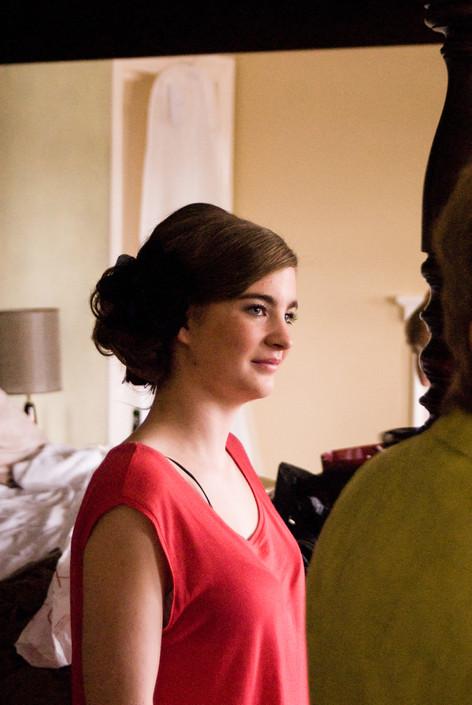 Bridesmaid at Hampton Court Mitre Hotel