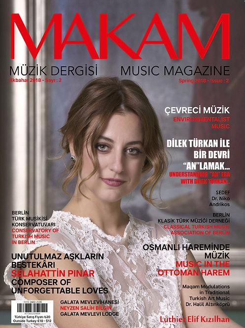Makam Müzik Dergisi (İlkbahar 2018)
