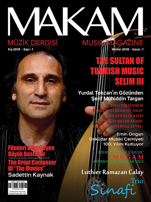 Makam Music Magazine (winter 2018)