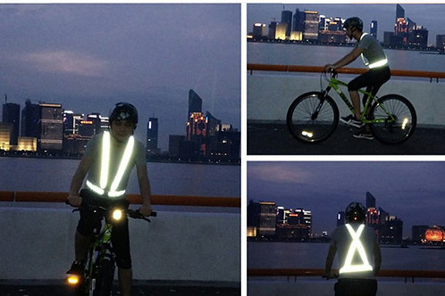 High Visibility Safety reflectiveVest for cycling and runners