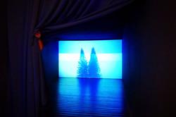 Videoinstalação Noite Azul