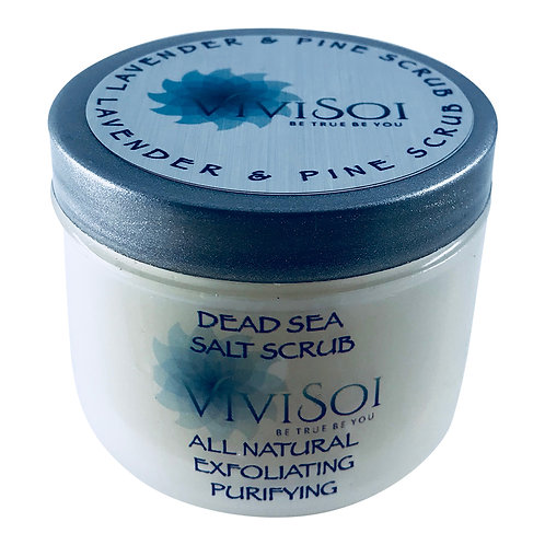Lavender & Pine Dead Sea Salt Scrub