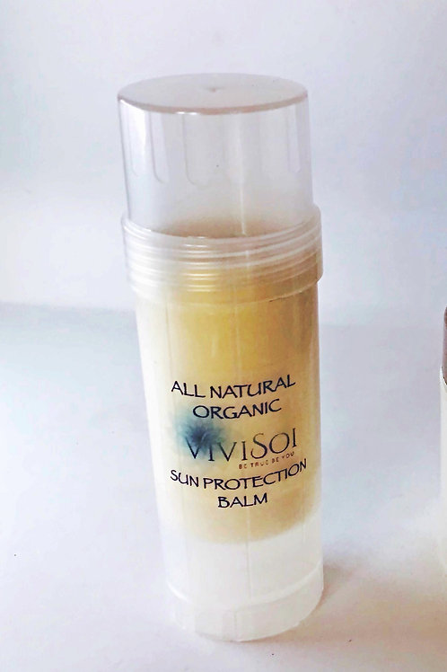 All Natural Organic Sun Protection Balm