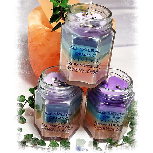 Aromatherapy Chakra Candle
