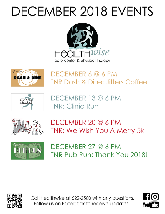 December Events @ Healthwise