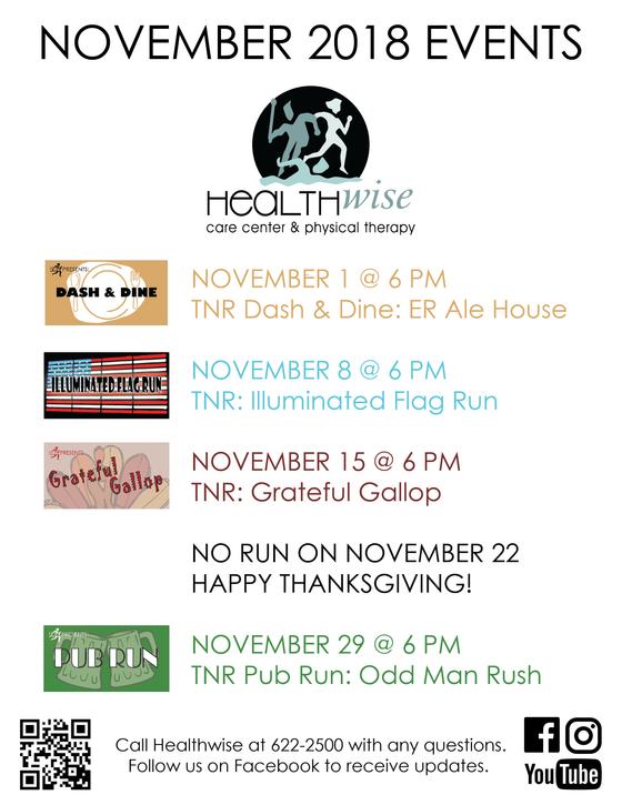 November Events @ Healthwise
