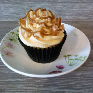 Salted Caramel Fudge Cupcake
