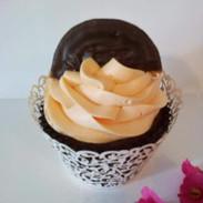 Jaffa Orange Cupcake
