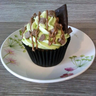 Mint Choc Chip Cupcake