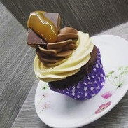 Millionaire Sundae Cupcake
