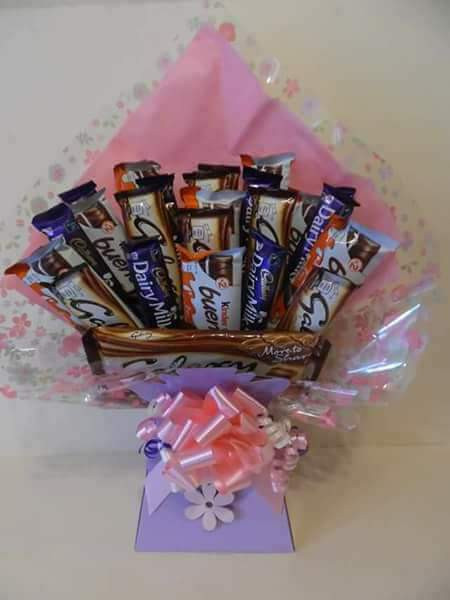 Bespoke assorted chocolate Bouquet - approx £20