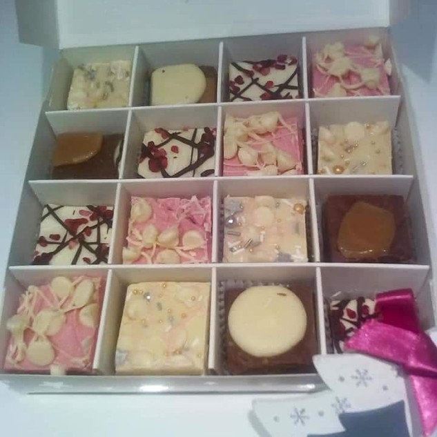 White choc chunks box - £11.99