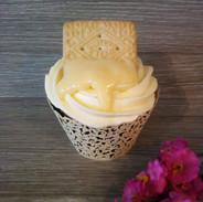 Custard Cream Cupcake