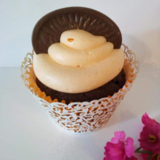 Chocolate Orange Cupcake