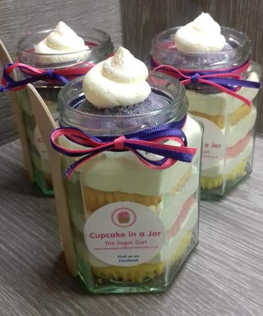 Unicorn Cupcake in a Jar - £4.50