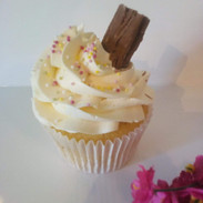 Vanilla Flake Cupcake