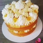 Lemon meringue and white chocolate cake - £14.99