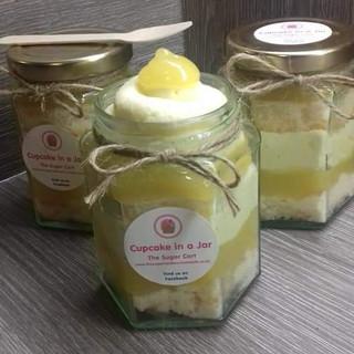 Lemon Cupcake in a Jar - £4.50
