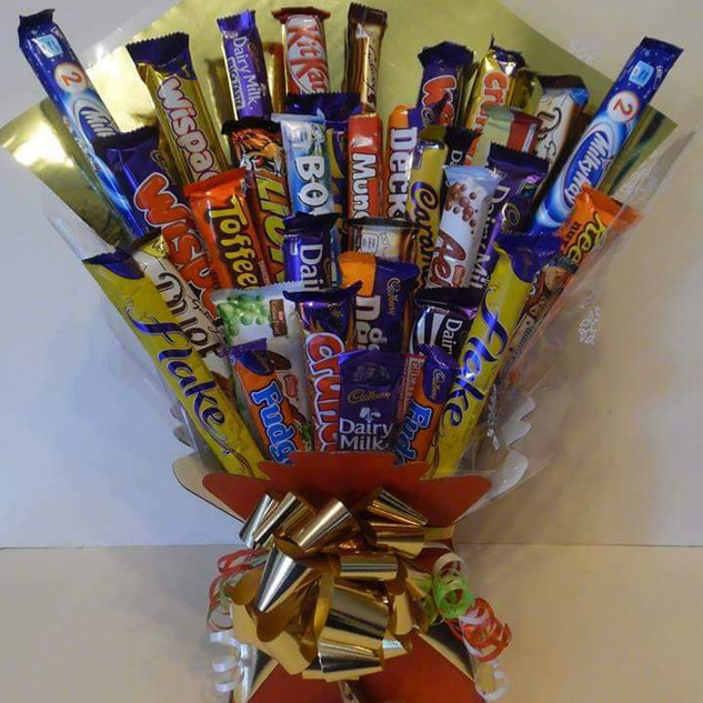 Bespoke assorted chocolate Bouquet - £20