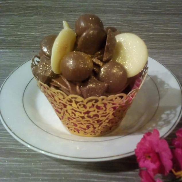 Chocolate Explosion Cupcake