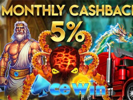 Monthly Cashback Up To 5%
