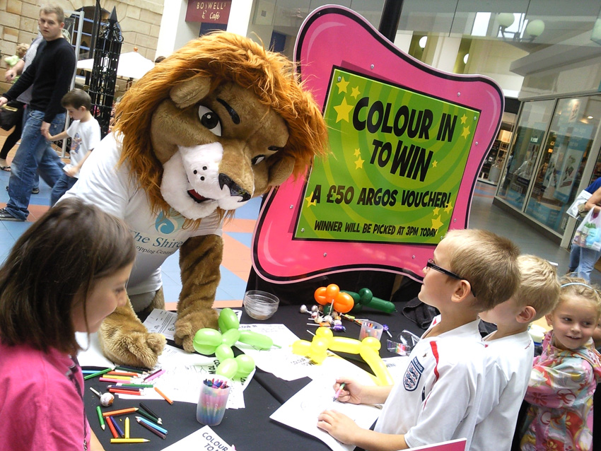 Bryan the Lion Colouring